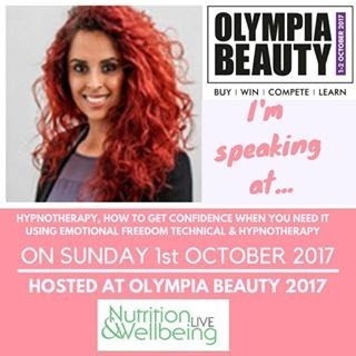 Malminder Will Be Speaking At Olympia Beauty October 2017