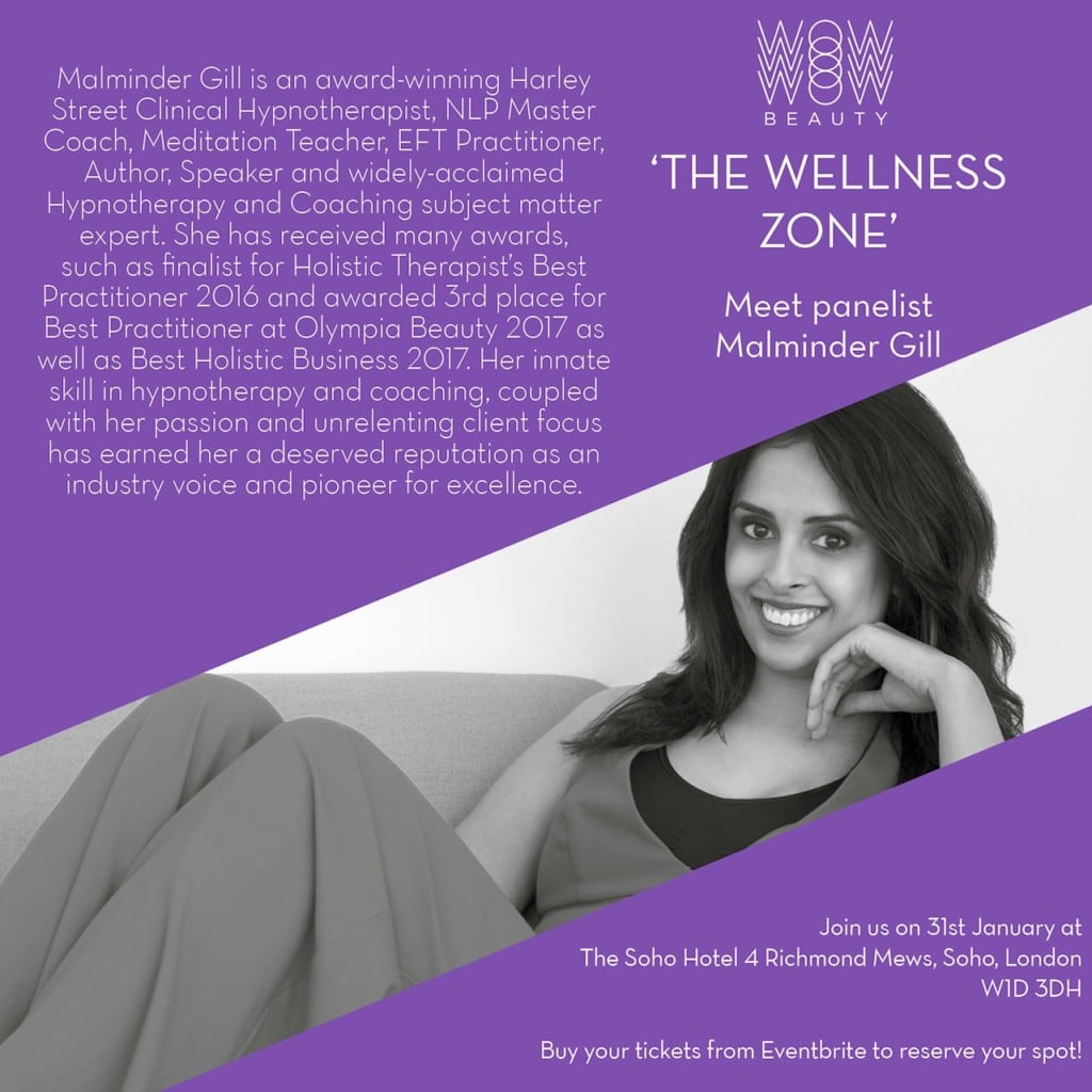 Malminder To Speak At WoW Beauty Wellbeing Zone, Soho House London